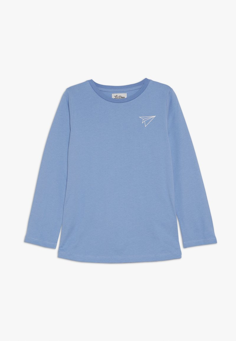 Lil'Boo - PAPER PLANE LONG SLEEVE - Langarmshirt - allure blue