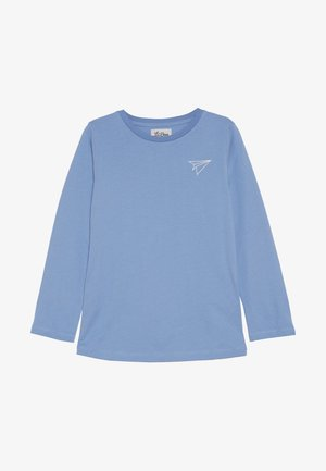 PAPER PLANE LONG SLEEVE - Long sleeved top - allure blue