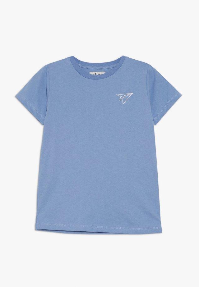 LIL PAPER PLANE SHORT SLEEVE - Jednoduché triko - allure blue