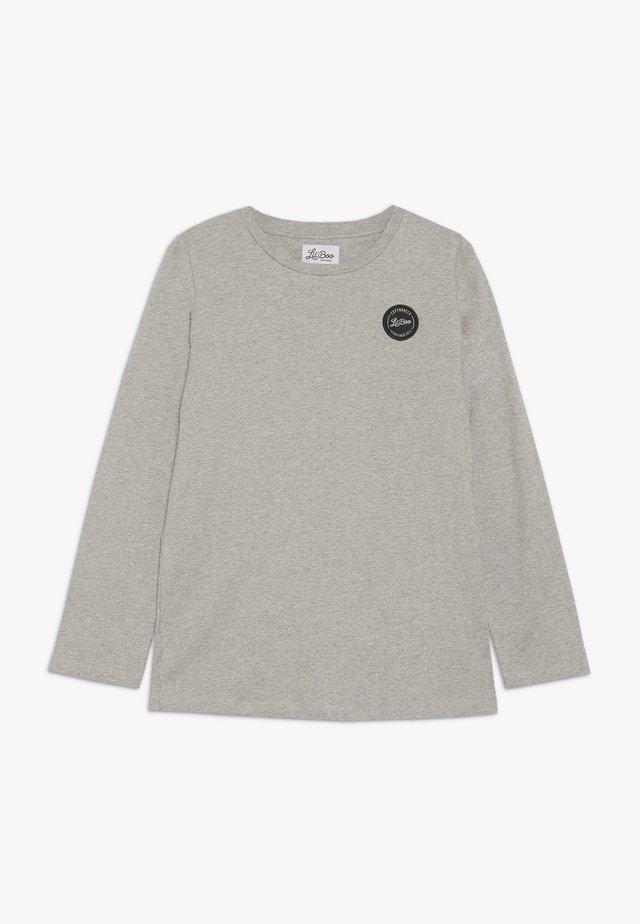 CLASSIC LONG SLEEVE - Long sleeved top - light grey melange