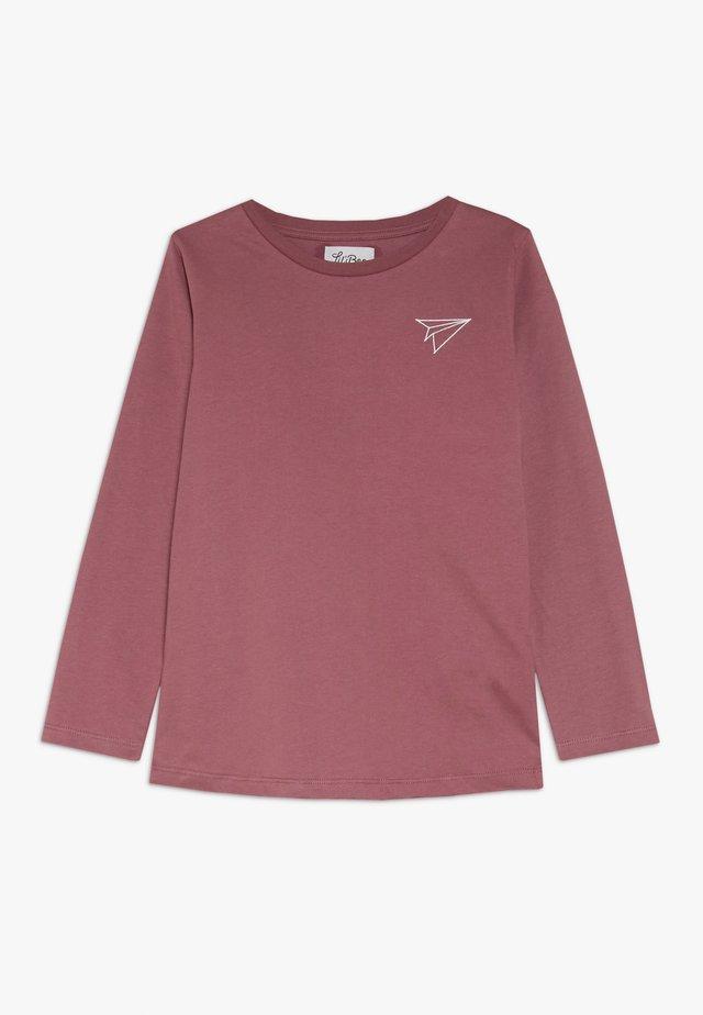 PAPER PLANE - T-shirt à manches longues - renaissance rose
