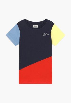 LIL BOO BLOCK - Triko spotiskem - yellow/navy/red/light blue