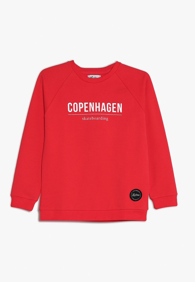 SKATEBOARDING  - Sweatshirt - red