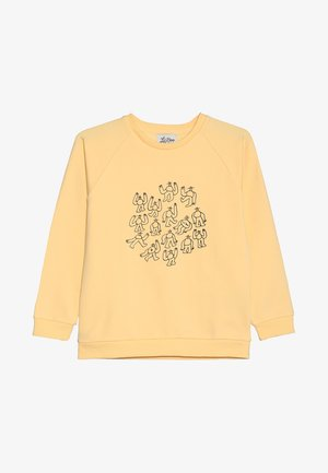 LIL' BOO X LB MANY MONSTER SWEATSHIRT - Collegepaita - peach yellow