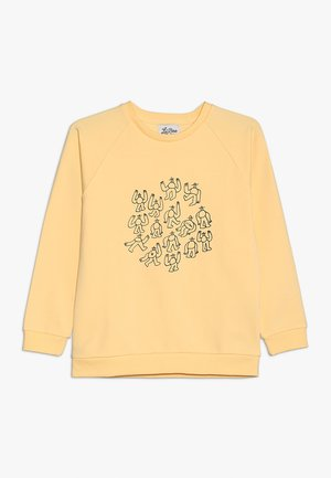 LIL' BOO X LB MANY MONSTER SWEATSHIRT - Mikina - peach yellow