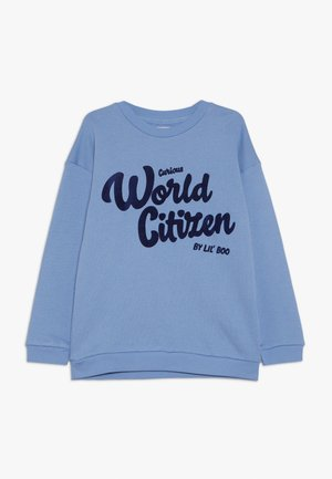 CURIOUS WORLD CITIZEN - Sudadera - allure blue