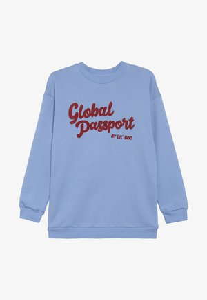 GLOBAL PASSPORT - Sweatshirt - allure blue