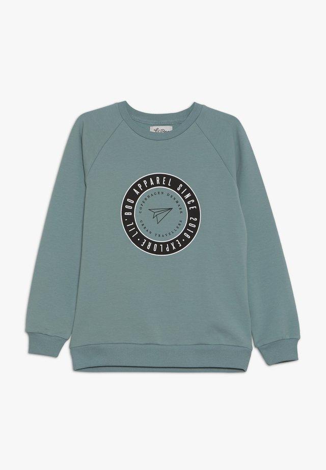 EXPLORE  - Sweatshirt - arctic green