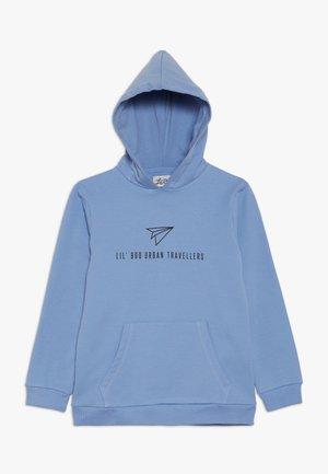 URBAN TRAVELLERS HOODIE - Huppari - allure blue