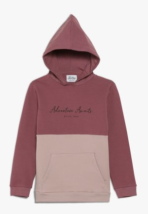 ADVENTURE AWAITS HOODIE - Hoodie - renaissance rose/adobe rose