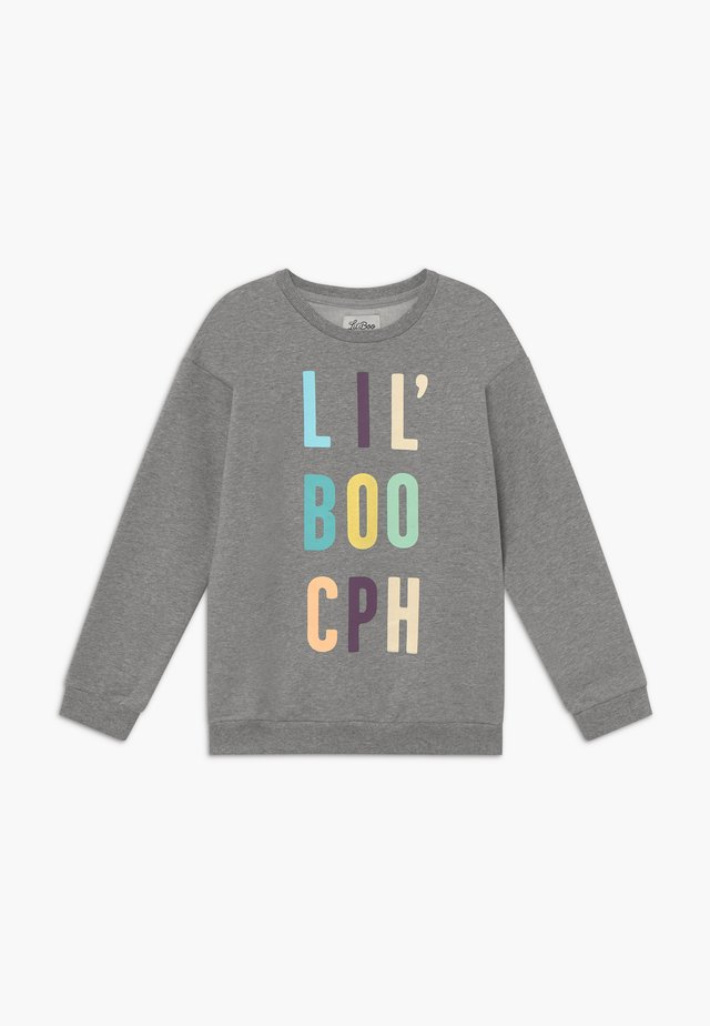 COLOUR POP - Sweatshirt - light grey melange