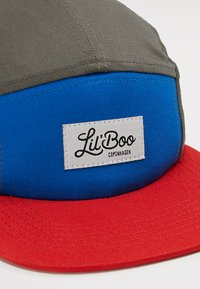 Lil'Boo - Caps - block red - 2