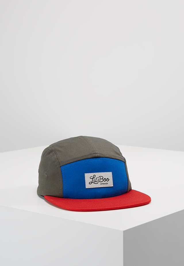 Casquette - block red