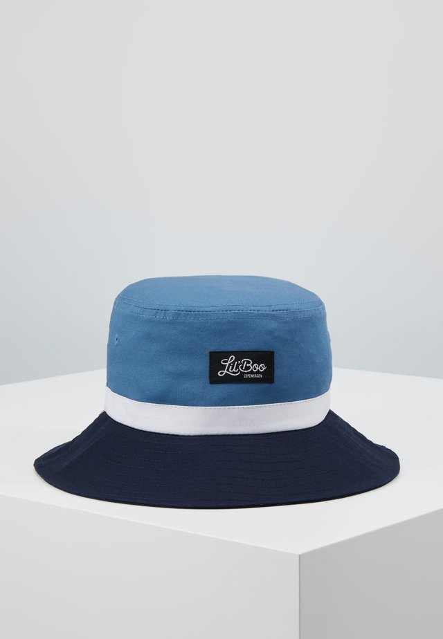 BUCKET HAT - Hatt - blue/navy/white