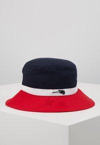 Lil'Boo - BUCKET HAT  - Klobouk - red/navy/white - 3