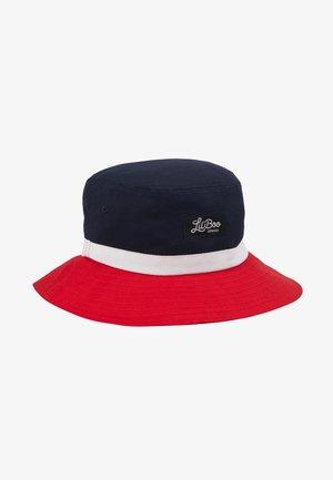 BUCKET HAT  - Hattu - red/navy/white