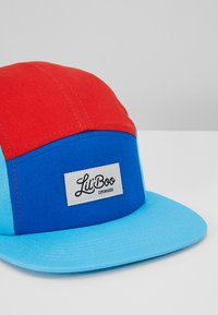 Lil'Boo - BLOCK - Caps - red/blue/turquoise - 2