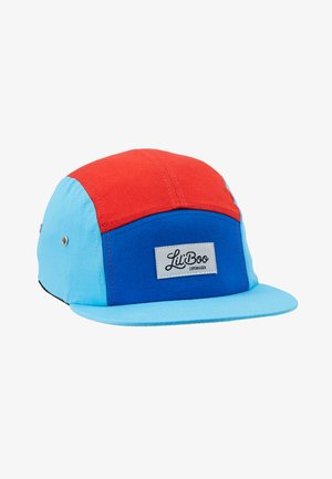 BLOCK - Gorra - red/blue/turquoise