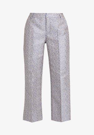 LAUREN EVENING CULOTTE PANTS - Trousers - ice blue