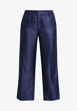 LYNNE EVENING CULOTTE PANTS - Trousers - royal navy blue