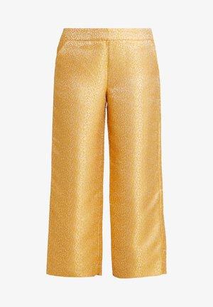 HARPER EVENING TROUSERS - Pantaloni - golden glow