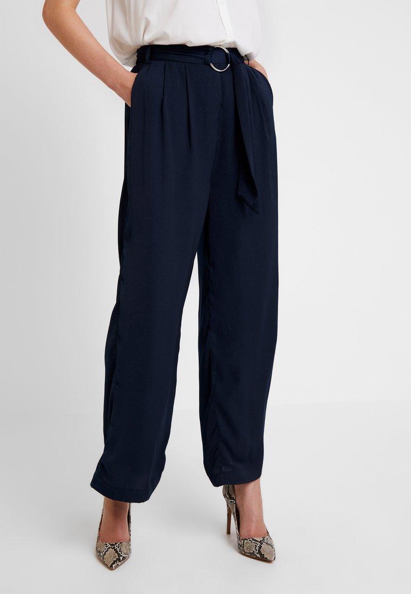 Love Copenhagen - SADIE PANTS - Trousers - captain navy