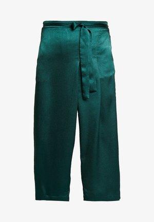 LORA CULOTTE PANTS - Trousers - sea green