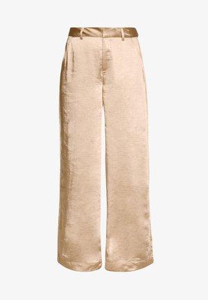 SALLC TROUSERS - Kalhoty - cement