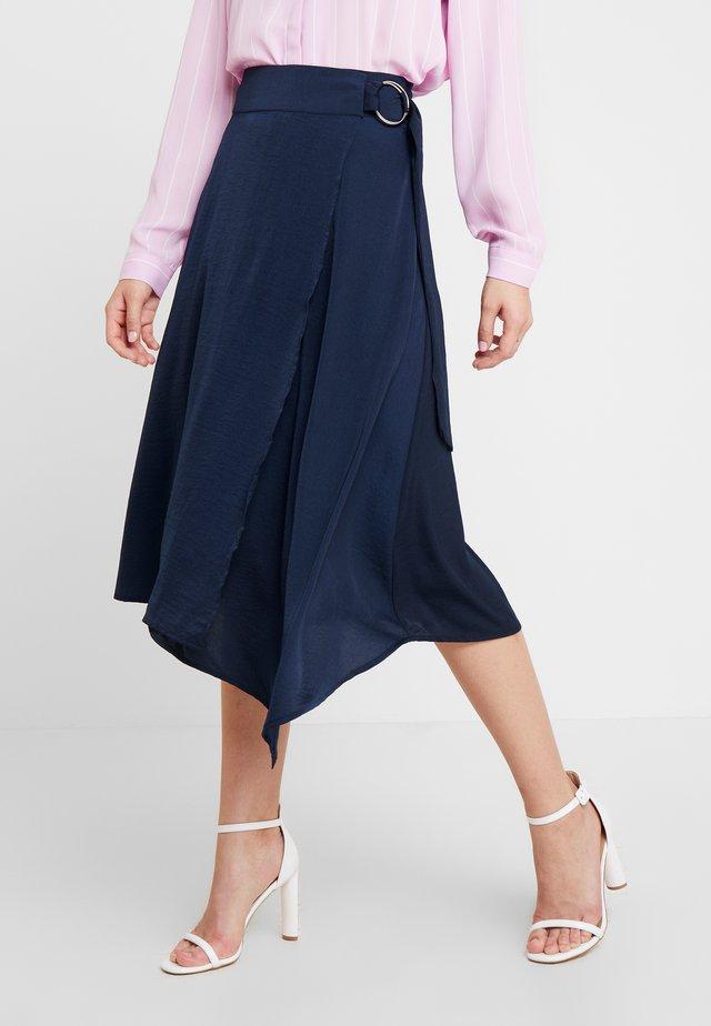 SADIE SKIRT - A-snit nederdel/ A-formede nederdele - captain navy
