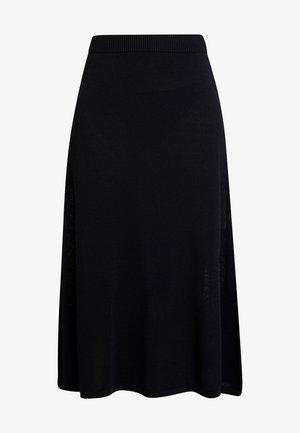 MARY SKIRT - A-snit nederdel/ A-formede nederdele - pitch black