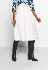 Love Copenhagen - ANNE SKIRT - A-line skirt - snow white - 0