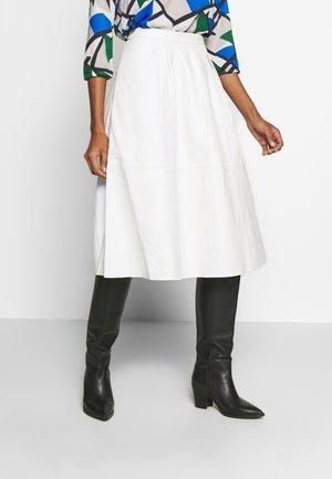 ANNE SKIRT - A-line skirt - snow white