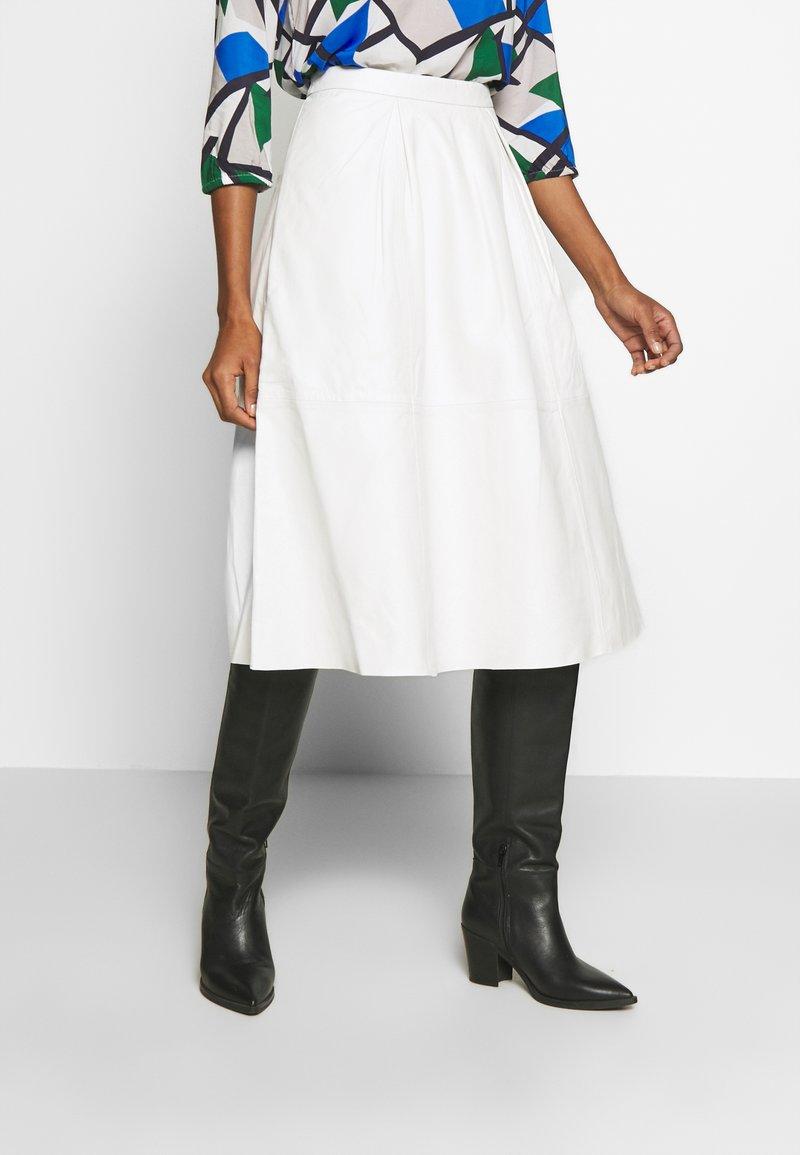 Love Copenhagen - ANNE SKIRT - A-line skirt - snow white