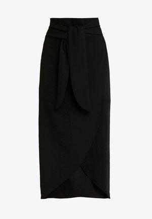 SAGA SKIRT - A-snit nederdel/ A-formede nederdele - pitch black