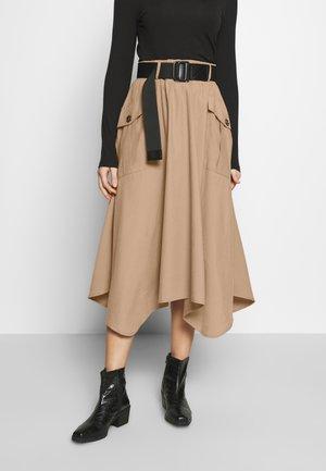 SIVALC SKIRT - A-line skirt - burro