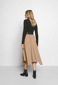 Love Copenhagen - SIVALC SKIRT - A-line skirt - burro - 2