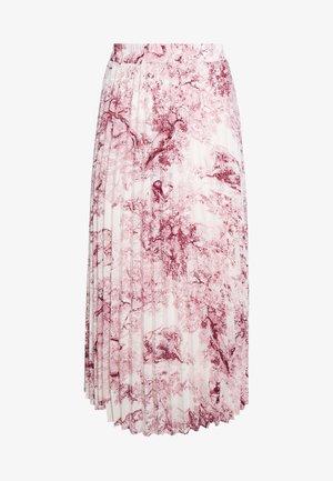 LCHOLLY SKIRT - Maxi skirt - red toile de jouy