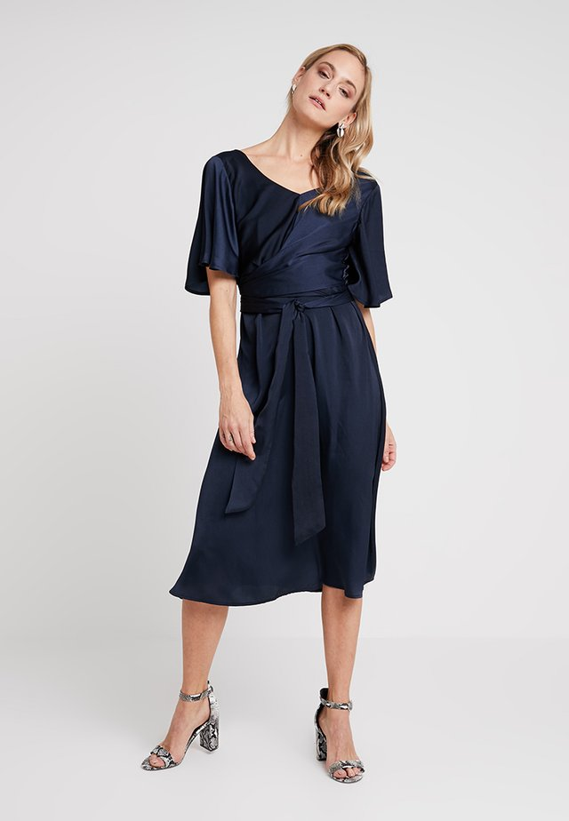 MARISA DRESS - Juhlamekko - royal navy blue