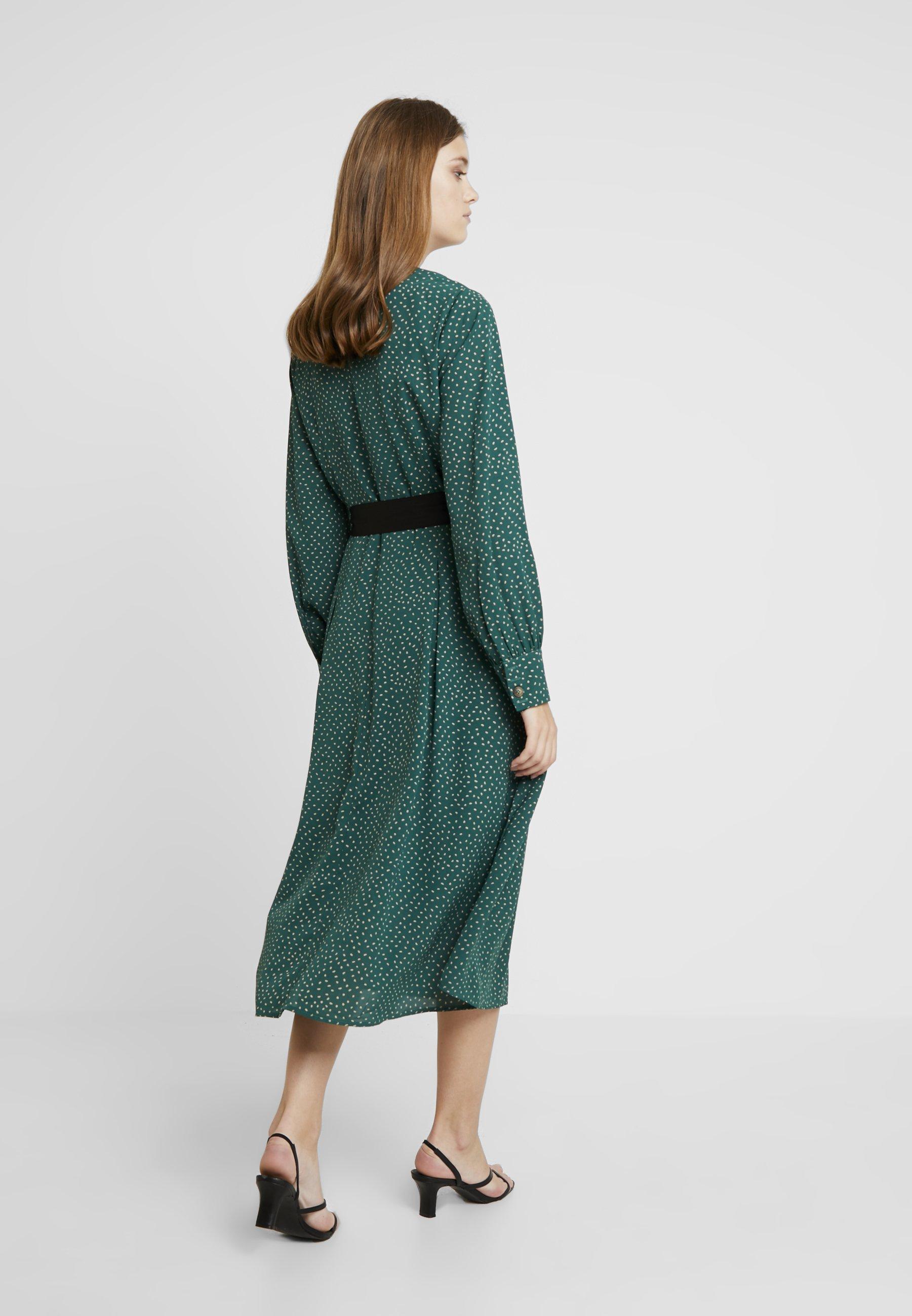 Love Copenhagen Robe chemise - vert sea green