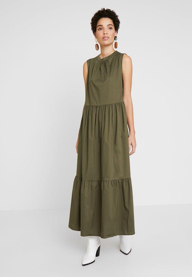 KRISTINEL DRESS - Maxikjoler - army green