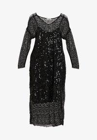 Love Copenhagen - MALY SEQUINS DRESS - Cocktailkleid/festliches Kleid - pitch black - 5