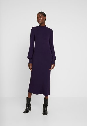 MARIELC TURTLE NECK DRESS - Długa sukienka - purple rain