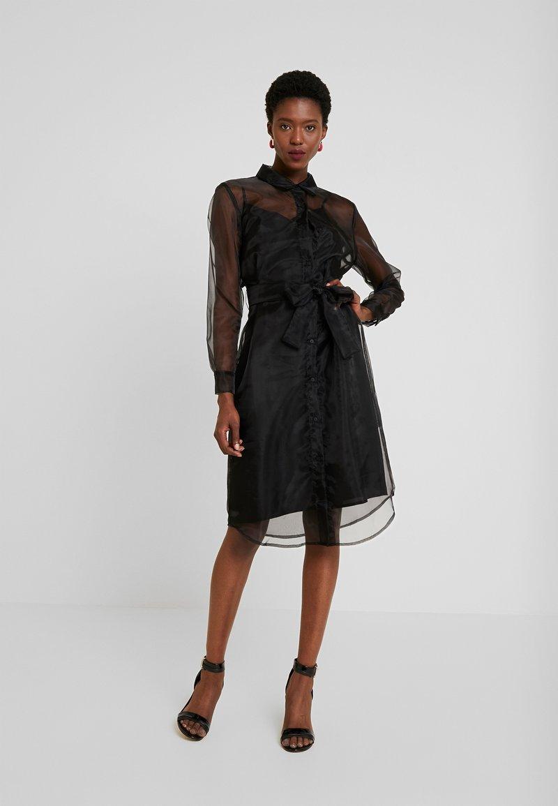 Love Copenhagen - DRESS - Košilové šaty - pitch black