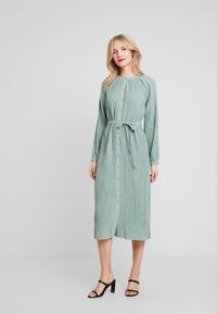 Love Copenhagen - INES PLEATED DRESS - Day dress - faded green - 0