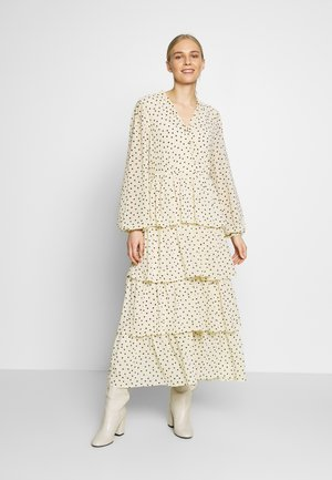 CECILIA DRESS - Maxi-jurk - white swan