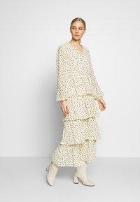 Love Copenhagen - CECILIA DRESS - Długa sukienka - white swan - 1