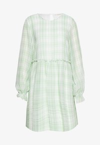 Love Copenhagen - EDWINA DRESS - Korte jurk - white/green - 0