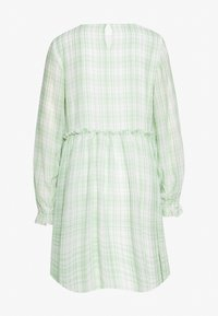 Love Copenhagen - EDWINA DRESS - Korte jurk - white/green