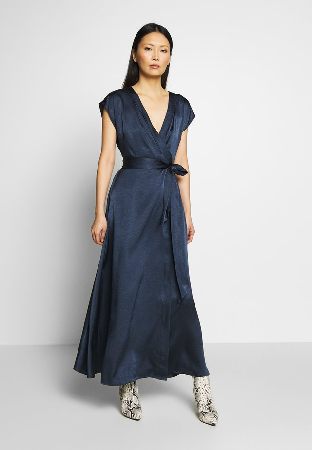 LORETTA DRESS LONG - Maksimekko - maritime blue