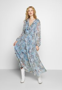 Love Copenhagen - CAMELIALC DRESS - Maxi dress - halogen blue - 1